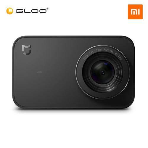 Xiaomi MiJia 4K Action Camera Small Sport Cam 3840 x 2160p WiFi 2.4˝ inches Touch Screen F2.8 Aperture Xiaoyi