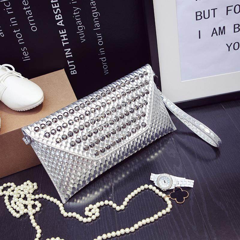 [PRE-ORDER] Women 2017 Summer New Diamond Clutch Bag