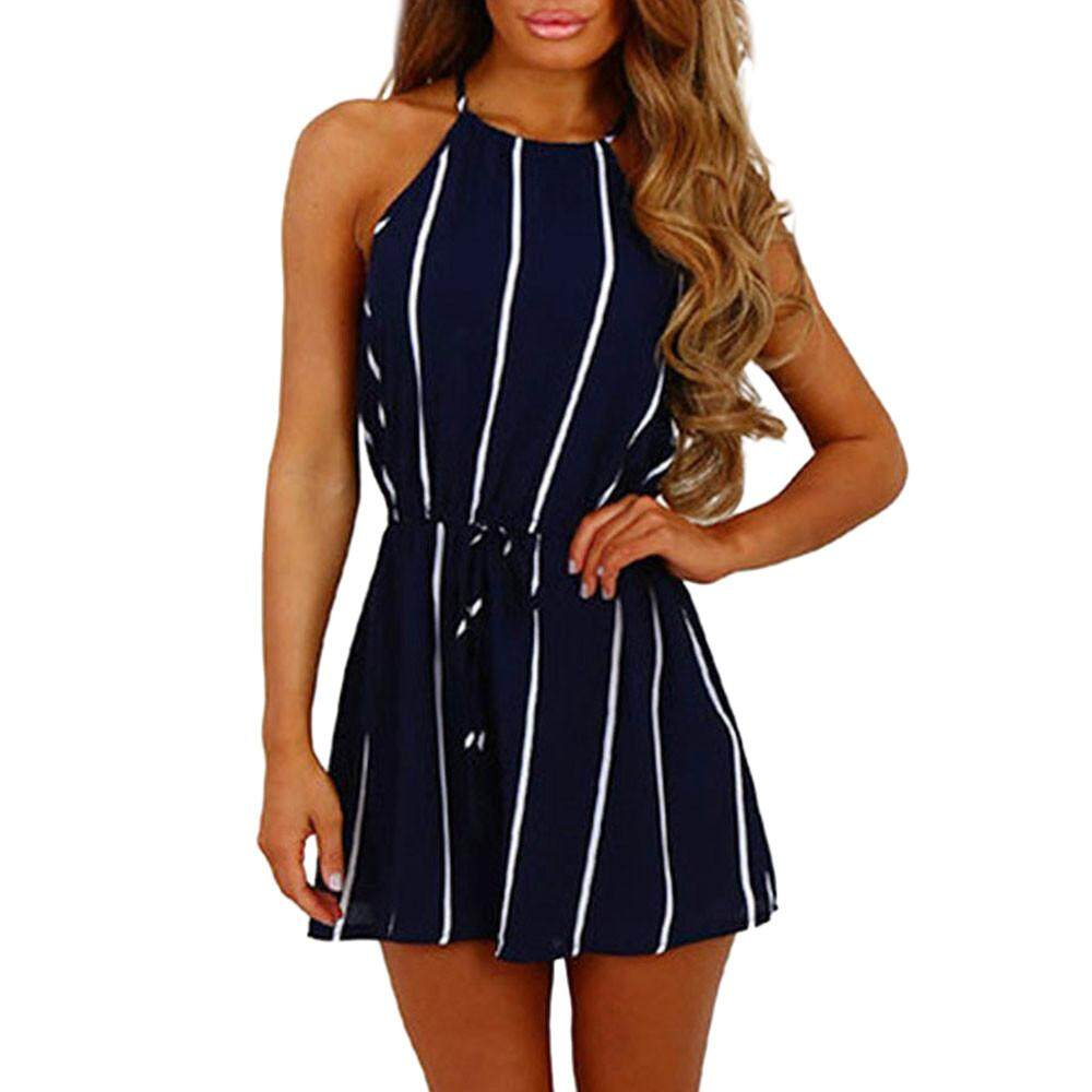 Womens Jumpsuits Playsuits Buy At I Am Cotton Romper Hippie Blue Endowed Women Stripe Printing Off Shoulder Sleeveless Rompers Jumpsuit Playsuit