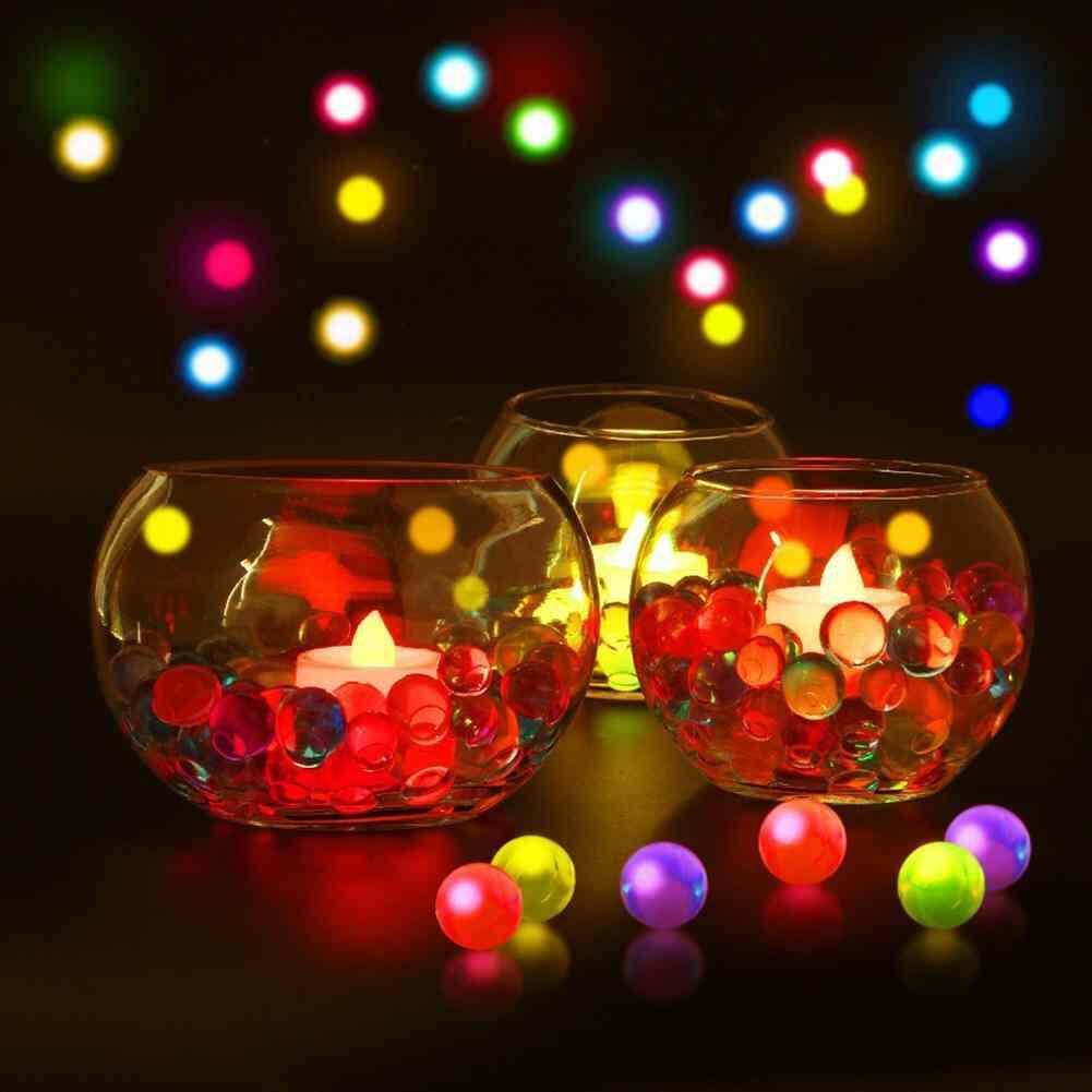 Hình ảnh Sway Magic Pearl Crystal Shape Water Beads Bio Gel Ball Grow Jelly Balls 10000 PCS - intl