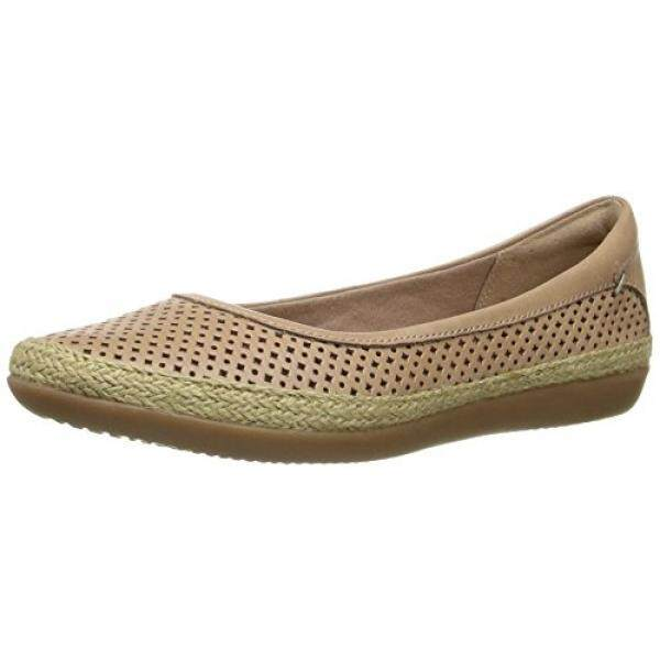 CLARKS Womens Danelly Adira Ballet Flat, Sand Leather, US - intl