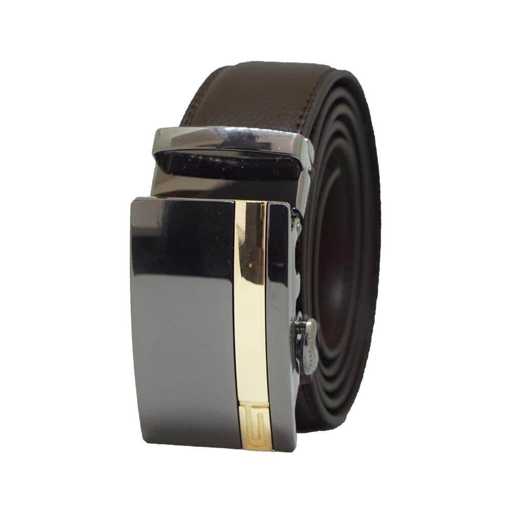 [100% CALF LEATHER] Premium Quality Best Seller MB047 Business Men Leather Belt [BLACK/READY STOCK] - Adjustable Strap for Size S , M , L , XL