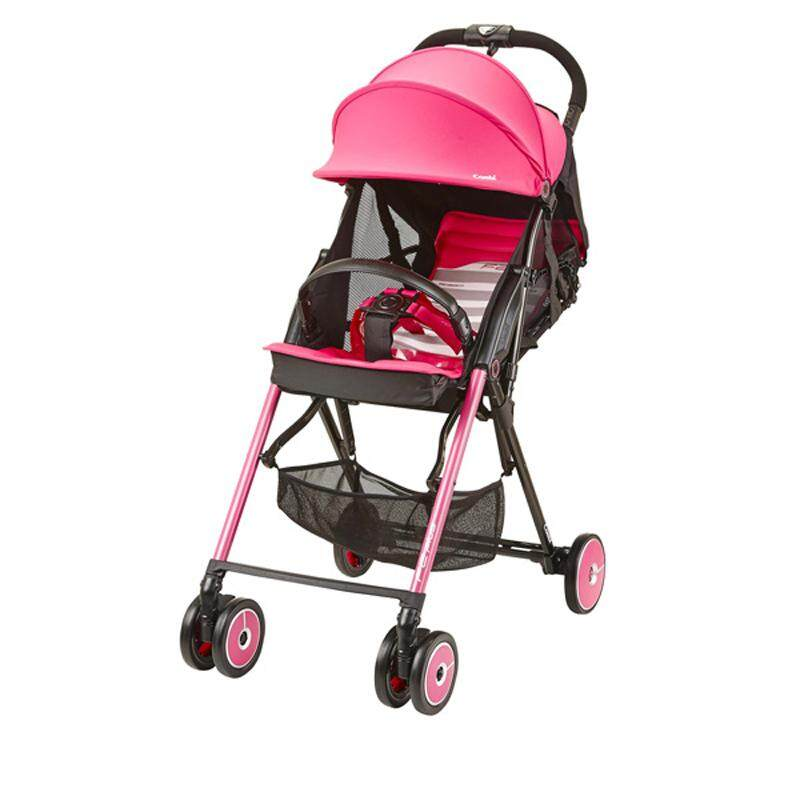 Combi Stroller F2 Plus Baby Super Lightweight Dolce Pink 165 Degrees Reclining