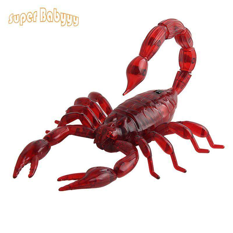 Hình ảnh Funny Simulation Infrared RC Remote Control Scary Creepy Insect Cockroach Toys Halloween Gift