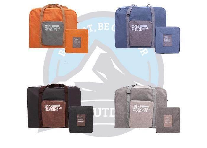 [ BEST SELLER ] Portable & Foldable Exclusive Travel Pouch Clothes Storage Bag-Blue