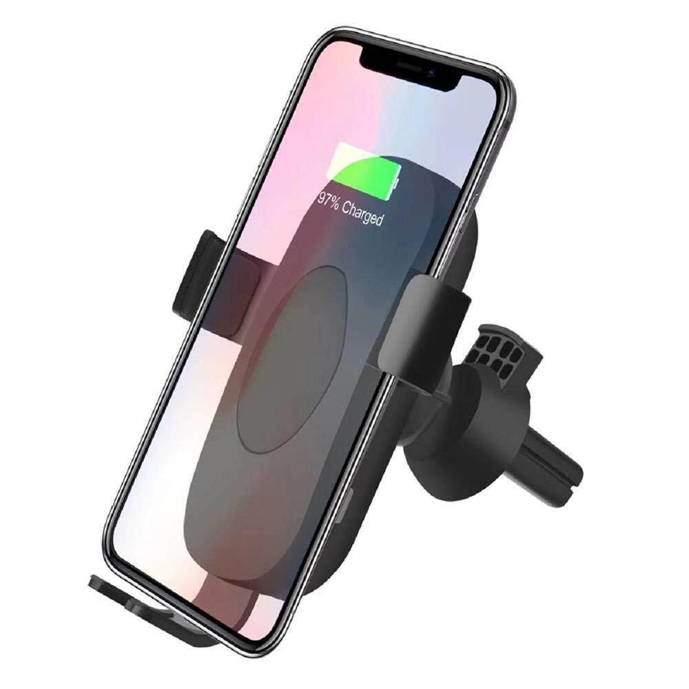 Kerui Mobil Charger Nirkabel Penyangga untuk iPhone X 8 PLUS Samsung Note8 S8 Plus Qi Pengisi