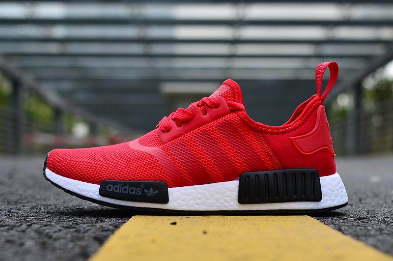 ca5f8f64960835 ... spain adidas mens womens nmd r1 runner sneaker fashion sports shoes red  c04a4 681af