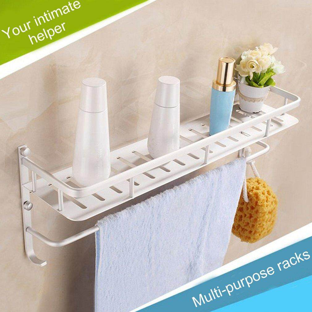 Carcool 40cm Ultra Lightweight Aluminum Multi-Purposes Strong Bearing Towel Holder Shelf