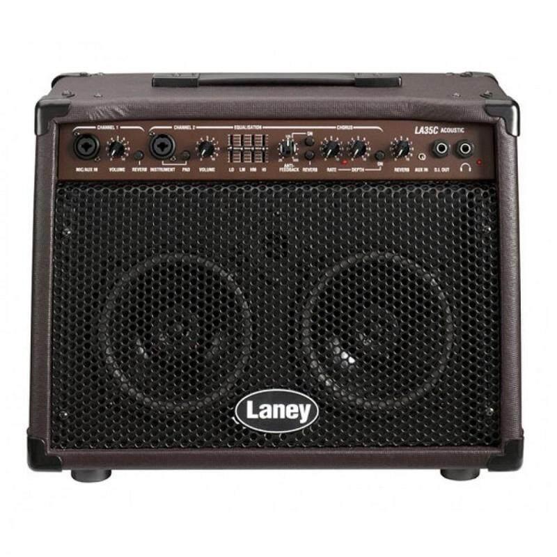 Laney LA35C Acoustic Guitar Combo Amplifier *Crazy Sales Promotion* Malaysia
