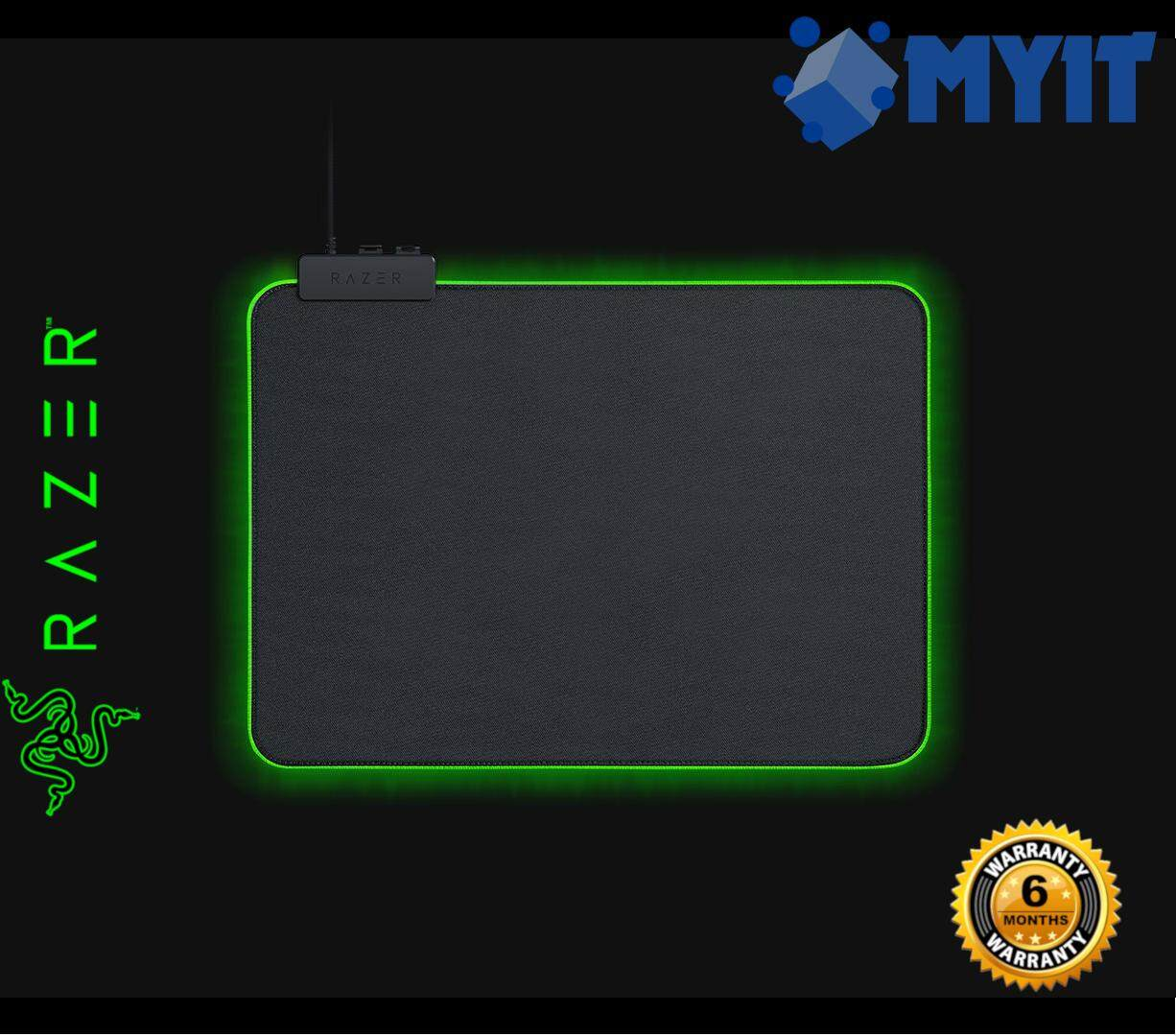 Razer Original Goliathus Chroma Gaming Mousepad Customizable RGB Lighting Mouse Mat (Pad Size: 255 x 355 x 3 mm)