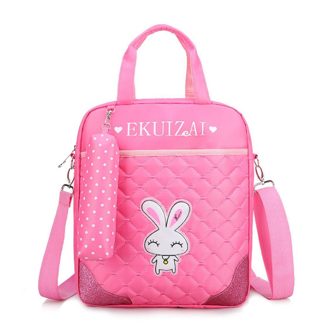 Giá bán 360WISH Cross-body Schoolbag Children Tutorial Bag Lightweight Backpack for Kids - Pink