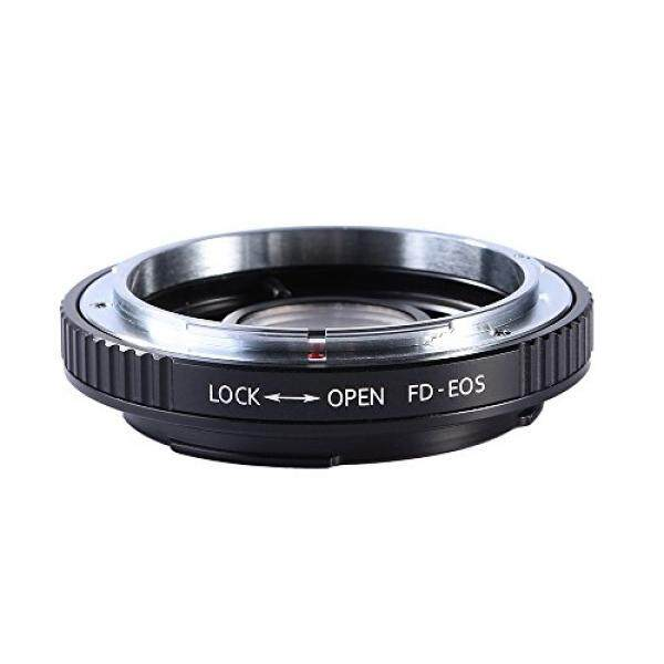 Beschoi Lens Mount Adapter for Canon FD lens to Canon EOS Mount SLR Camera Body, Fits Canon 1D, 1DS, Mark II, III, IV, Digital Rebel T5i, T4i, T3i, T3