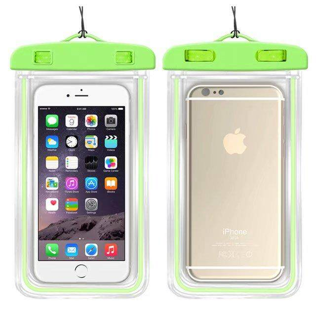 Universal Waterproof Phone Bags For Alcatel U5 HD Soft Clear Pouch Case Sport Diving(Suitable for 6 inches below) - intl