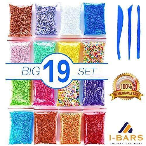 Foam Beads for Slime Micro Floam .