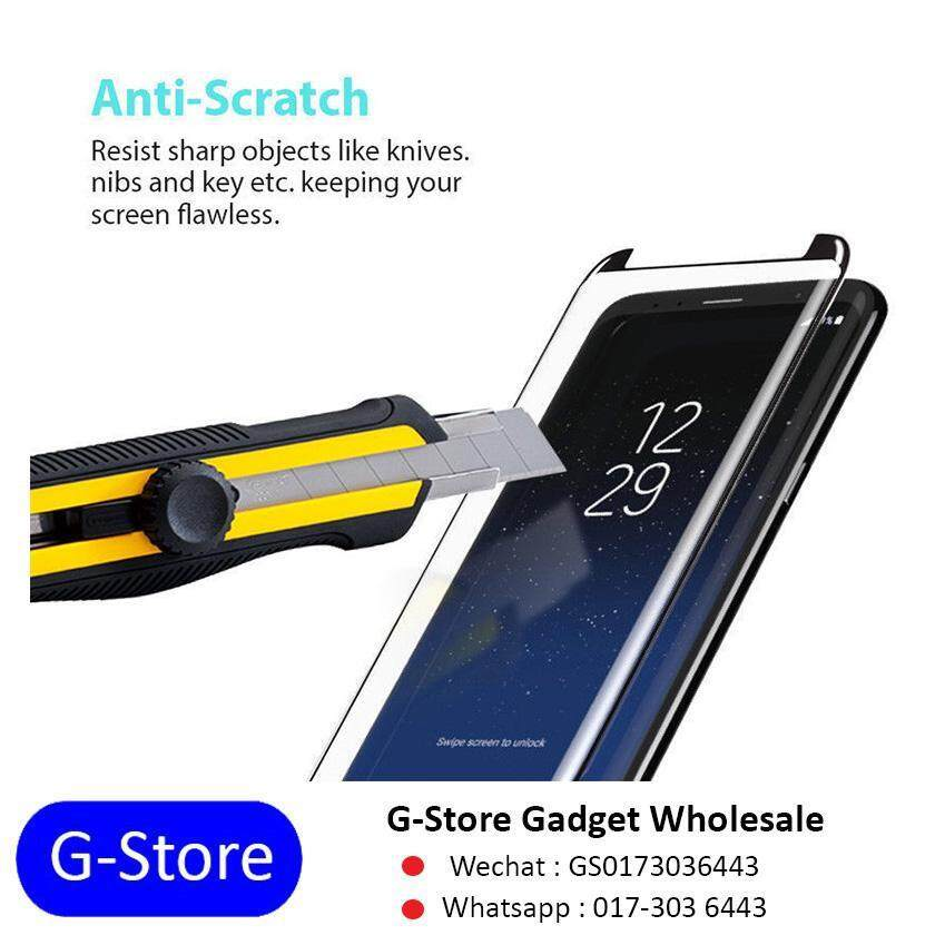 Features Full Glue Curved Tempered Glass Samsung S8 S8 Plus Dan
