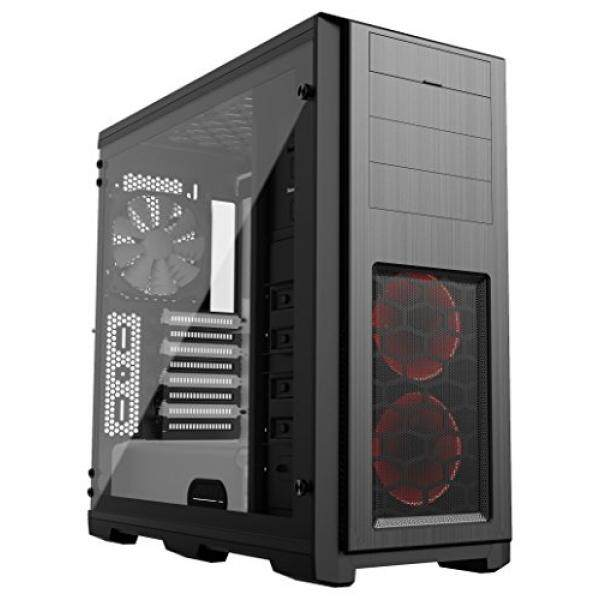 [From.USA]Phanteks Enthoo Pro TG SE with 2x Halos RGB Fan Frames Tempered Glass Side Panel Black/White Interior (PH_ES614PTG_SWT) B078K6DZMP Malaysia