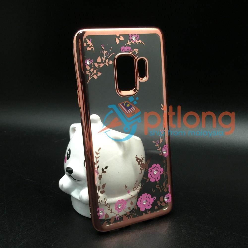 Features Samsung S9 Plus G965 Secret Garden Diamond Transparent Soft