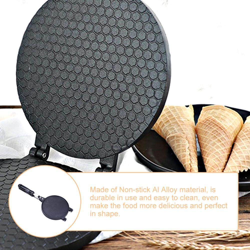 Household Kitchen Gas Nonstick Waffle Cone Making Mold Mould Baker Egg Roll Baking Tool - Intl By Minxin.