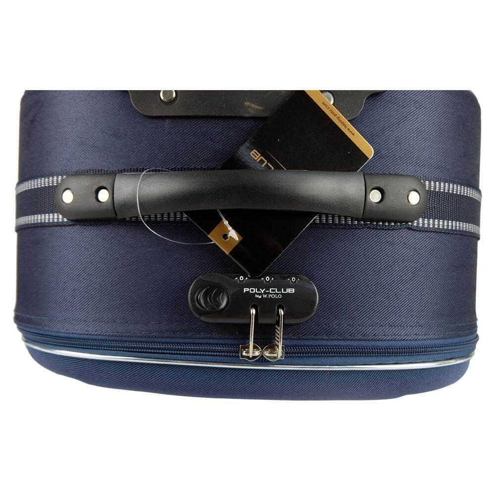 W.Polo BE9806 28inch 2W EVA Softcase Luggage- Navy