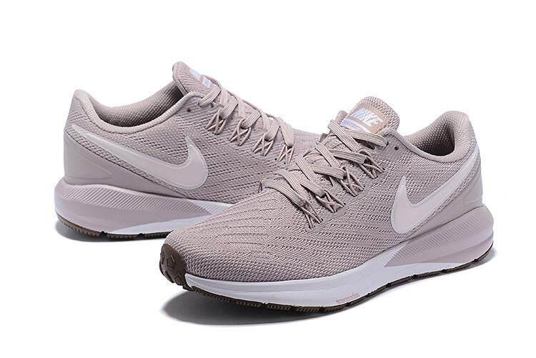 NIKE _ AIR ZOOM STRUKTUR 22 Sepatu Lari Mode untuk Wanita Sepatu Kets Olahraga