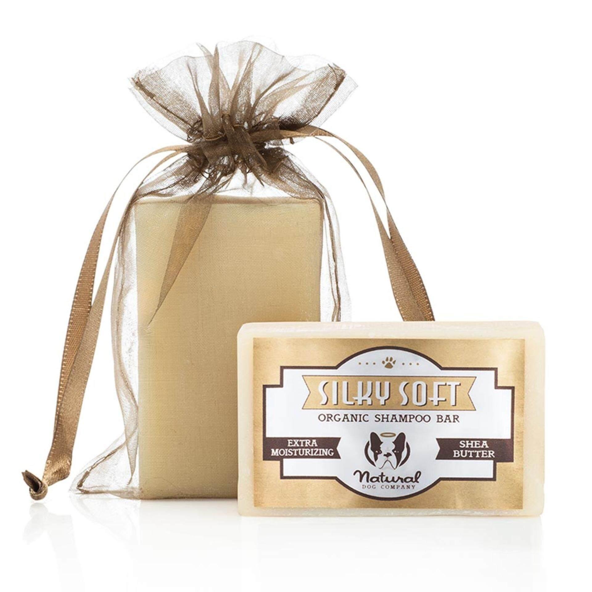 Natural Dog Company Silky Soft Organic Shampoo Bar - 4oz (115 g) / 6oz (170 g)