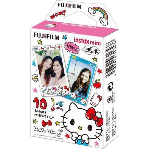 FUJIFILM Film Instax 10 Lembar Pola (HELLO KITTY) Instax MINI KITTY2 WW 1-Intl