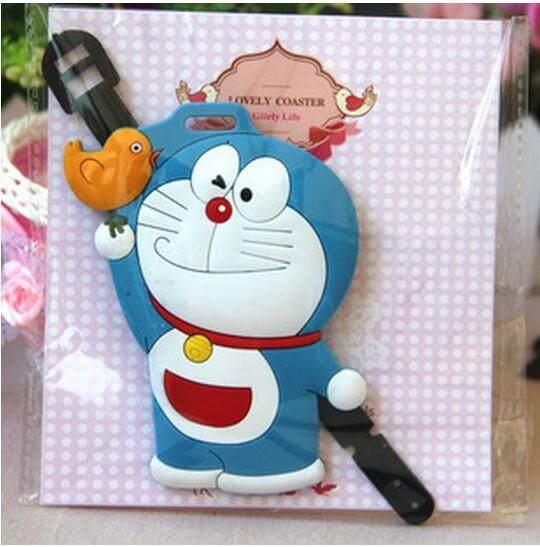 Cute Doraemon Luggage Tag