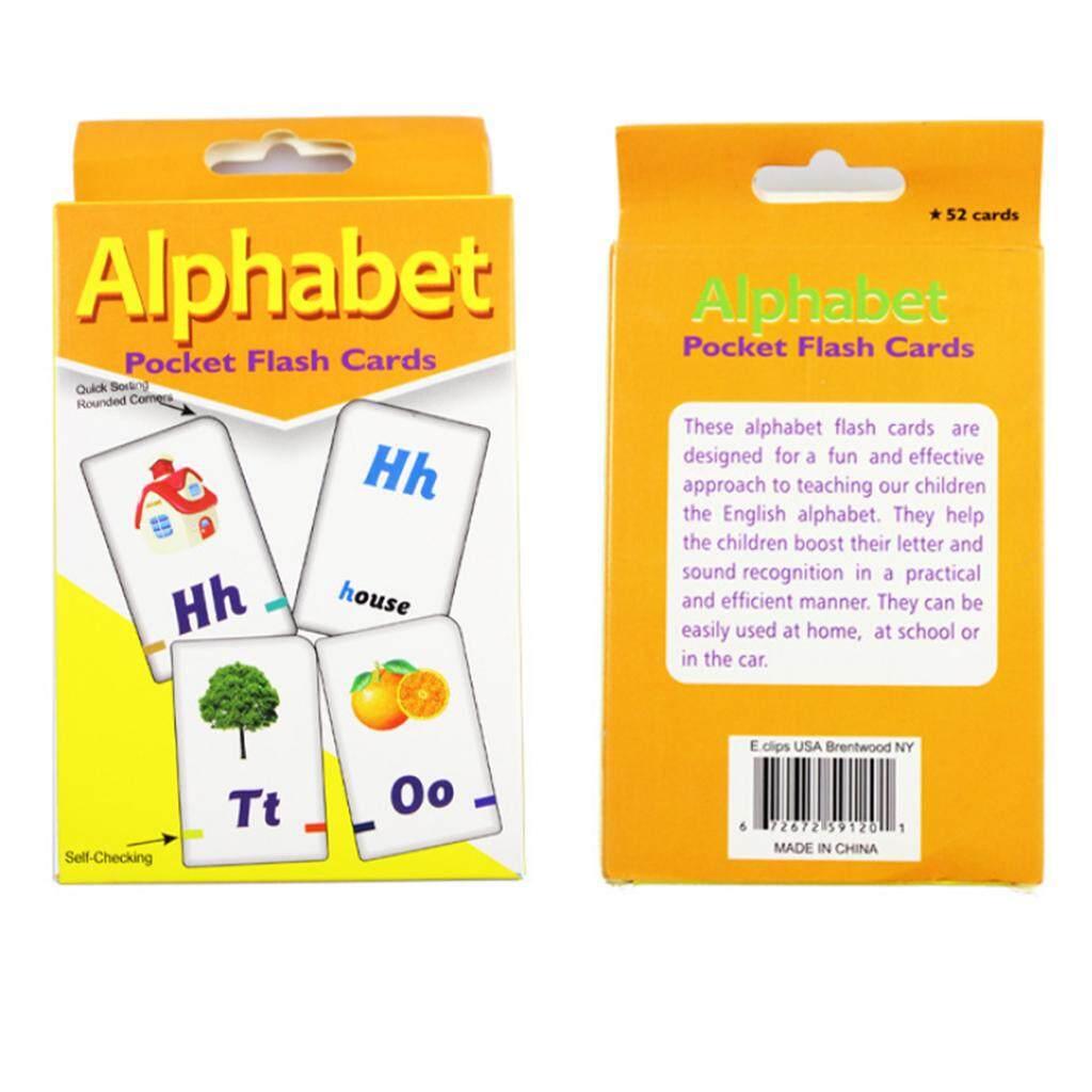 BolehDeals 36pcs English Flash Cards for Kindergarten Toddlers Preschool  Alphabet