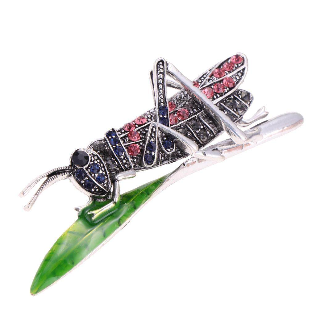 ... Tongsis Kabel dan Tombol Shutter. Source · BolehDeals Rhinestone Crystal Insect Grasshopper Locust Big Pin Brooch Black Red