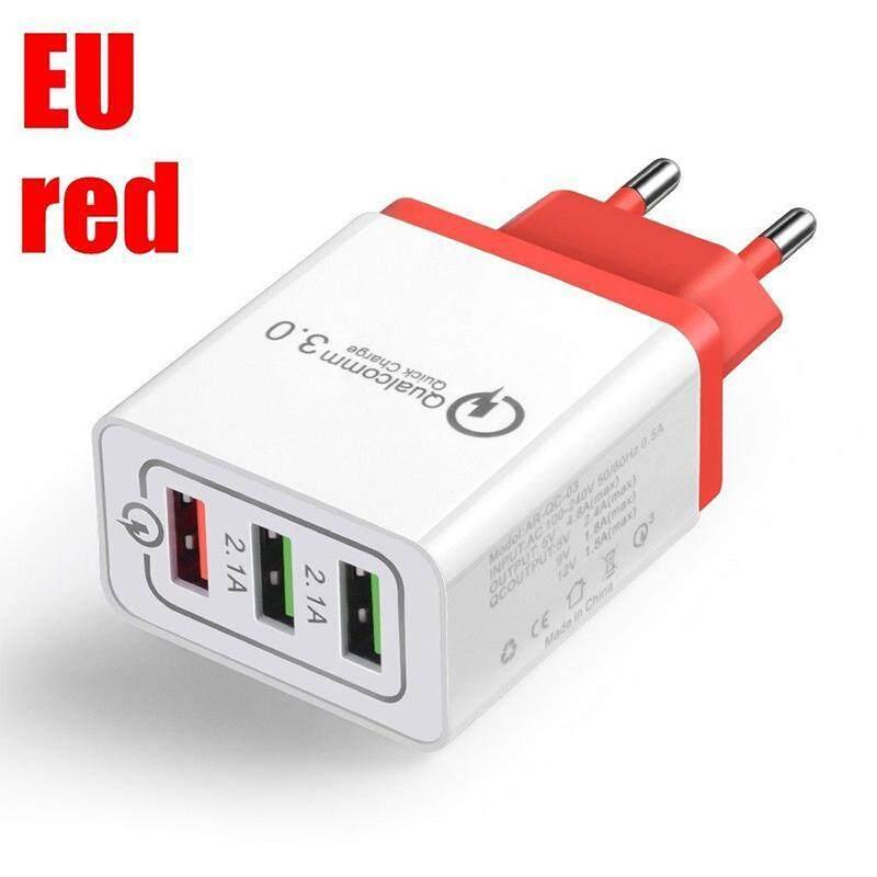 Giá LB Nhanh QC 3.0 Bộ Sạc 3 Cổng USB Sạc Tường Adapter 30 Wát