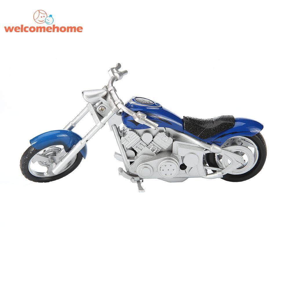 1pc Motorcycle Model Simulation Racing Motor Bicycle Kids Toys Alloy By Welcomehome.