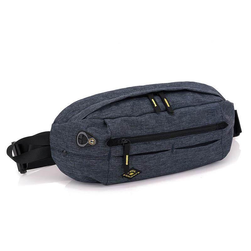 Large Capacity Waterproof Crossbody Bag Fashion Multifunctional Nylon Waterproof  Belt Waist Bags Sports Walking Women Men 075669dc5049d