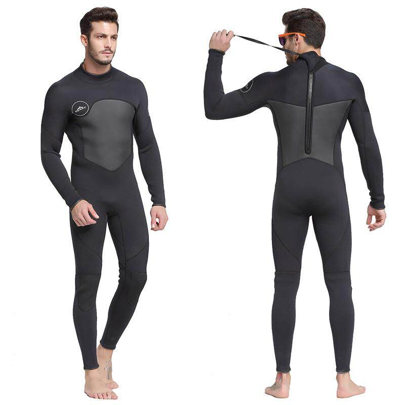 b6fd669b66 SBART Newest Men 1.5mm One-piece Neoprene Wetsuit Long Sleeve Diving Suit  for Diving