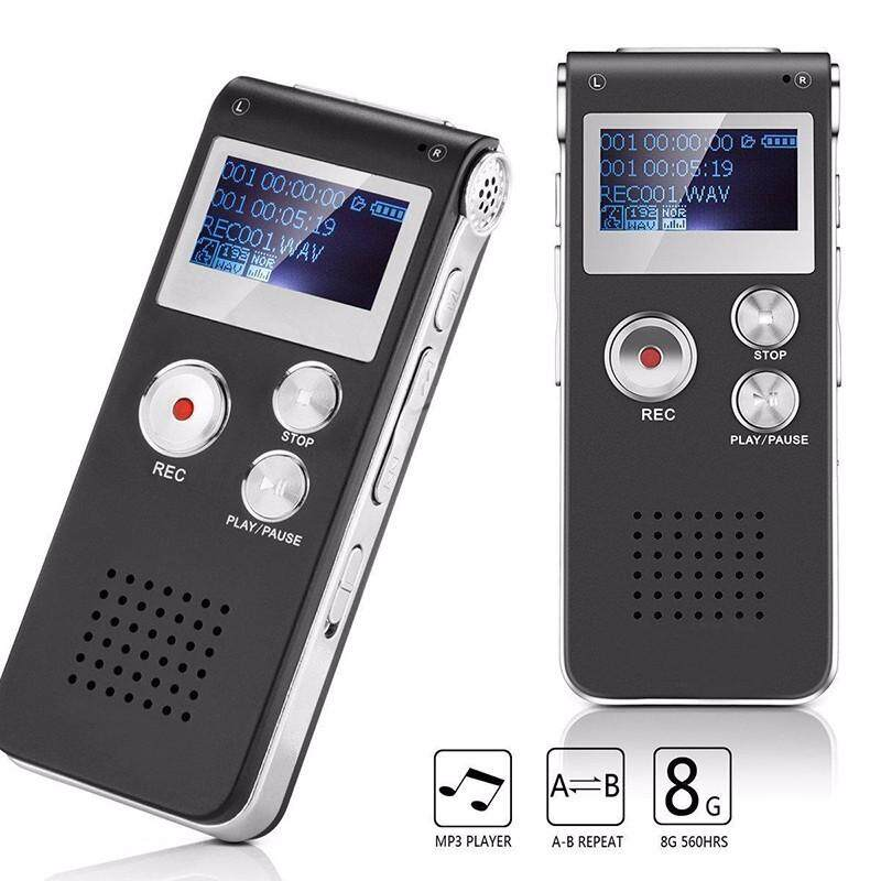 NanXiangZi Original Sk-012 8Gb Spy Mini Usb Flash Digital Audio Voice Recorder Dictaphone