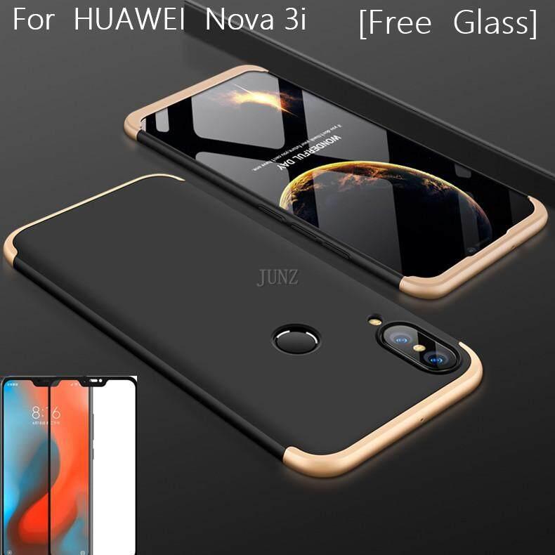 [Kaca Lunak Gratis] Nova 3i Case 360 Derajat Penuh Casing Pelindung Tahan Guncangan Pelindung