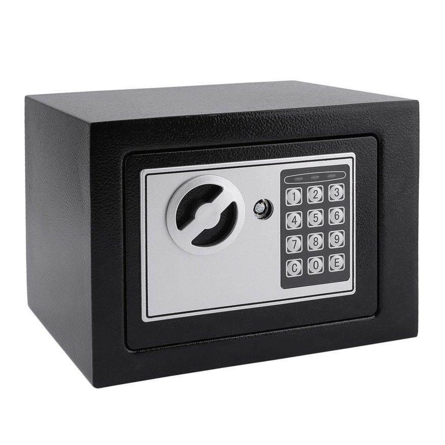 [FREE SHIPPING]UINN Electronic Safe Box With Digital Keypad Lock 4.6L Mini Jewelry Storage Case