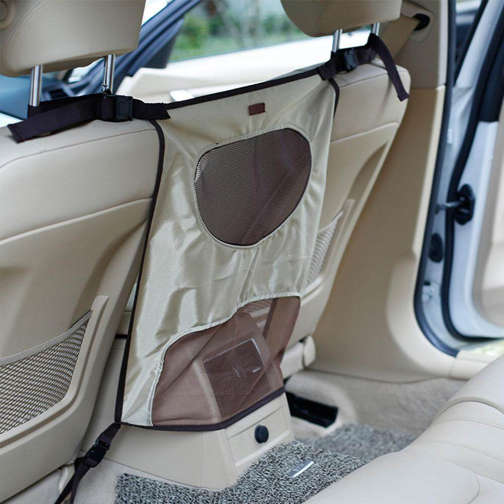 Aolvo Pet Car Backseat Barrier Adjustable For Safe Travel Driving By Aolvo.