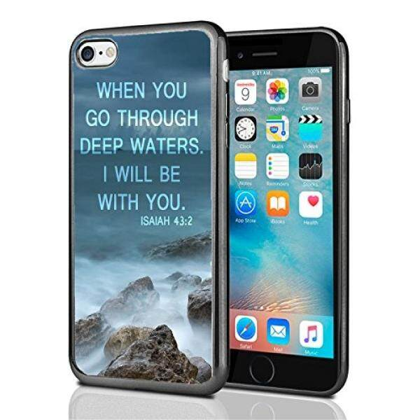 Smartphone Cases Isaiah 43:2 When You Go Through Deep Waters I Will Be With You For Iphone 7 (2016) & Iphone 8 (2017) Case Cover By Atomic Market - intl