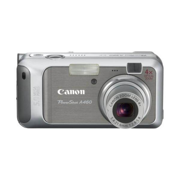Canon PowerShot A460 5.0MP Kamera Digital dengan 4x Optical Zoom (Perak)