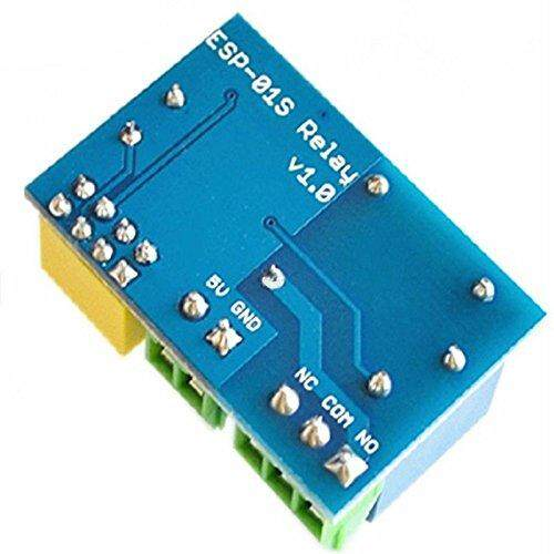 Review Esp8266 Esp 01s 5v Wifi Relay Module Things Smart Home Remote