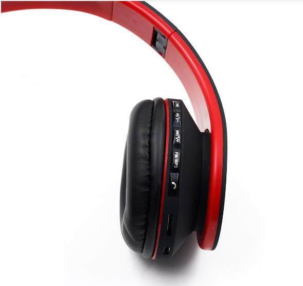 (4 IN 1 FUNCTION) WJS Foldable Stereo Wireless Bluetooth Headphone Foldable EDR Earphone Headset (Black)