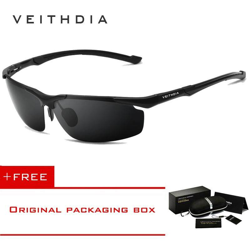 870951380b VEITHDIA Men s Aluminum Magnesium SunGlasses HD Polarized Glasses Male  Eyewear Sunglasses For Men 6592