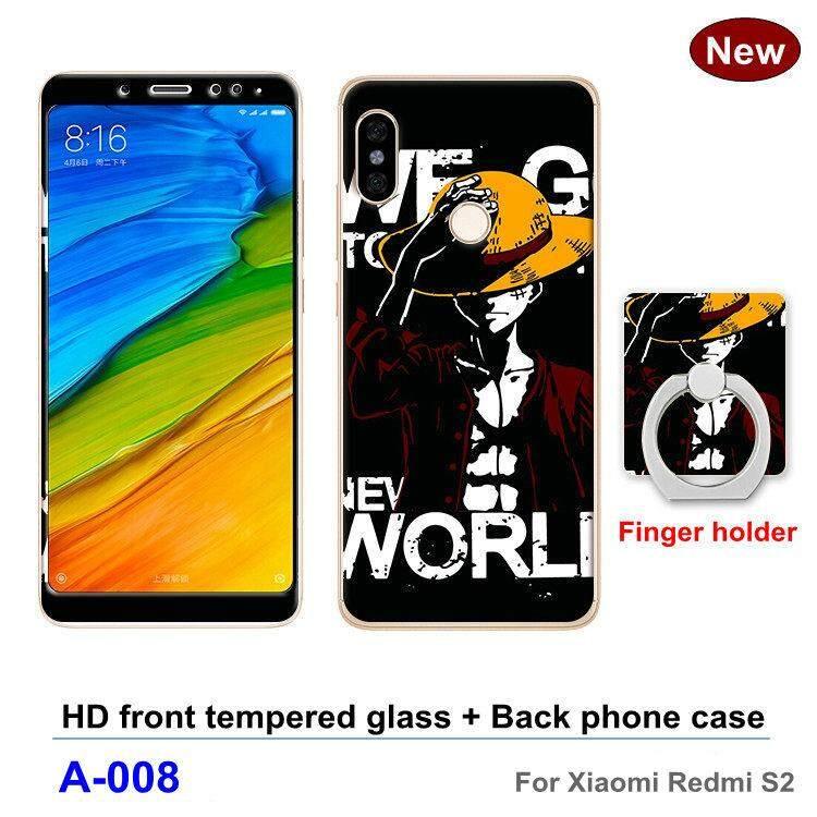 Untuk Xiaomi Redmi S2 Lucu Case Desain Klasik Simpel Casing Ponsel S Kreatif Produk Baru TPU