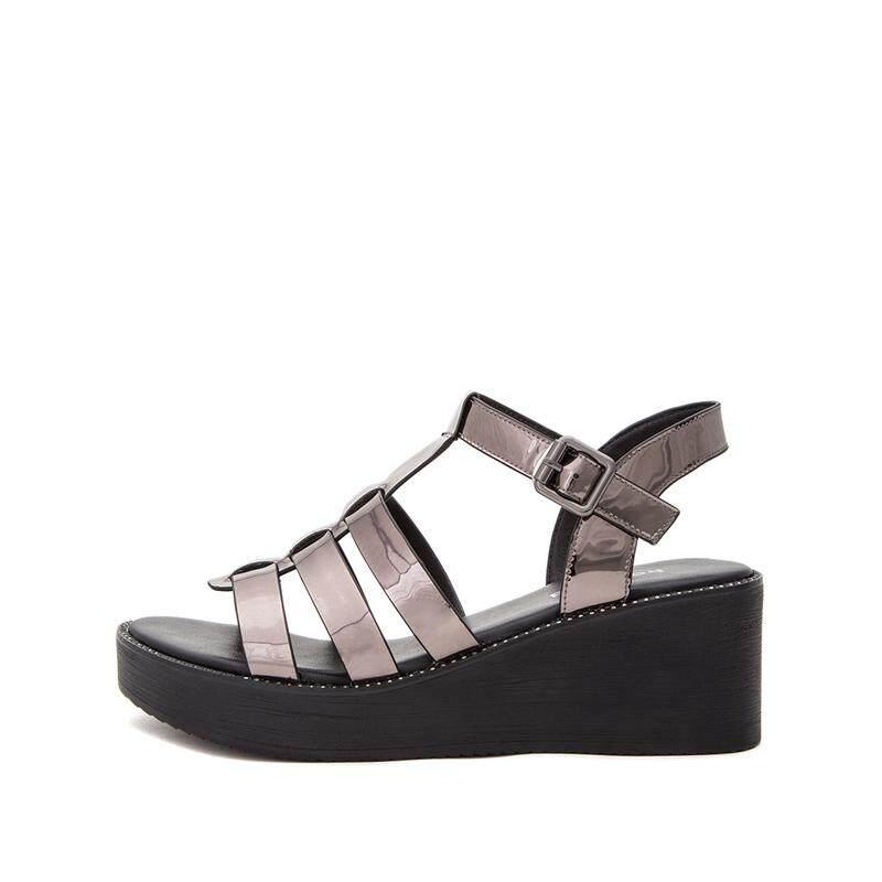 Hotwind Sandal Summer Sederhana dan Elegan Musim Panas Sandal Summer casual hak sedang