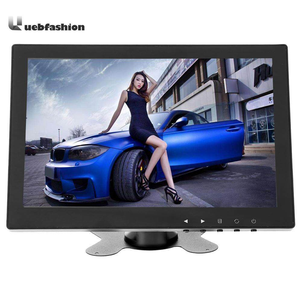 DC12V 10.1 Inch TFT LCD Monitor 1024x600 Mini Car TV Computer Display Video Input Security Monitor