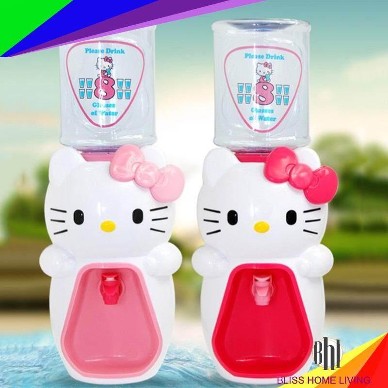 (Dark Pink)Hello Kitty 2000ml Water Dispenser Cartoon 8 Cup Water Drinking Machine