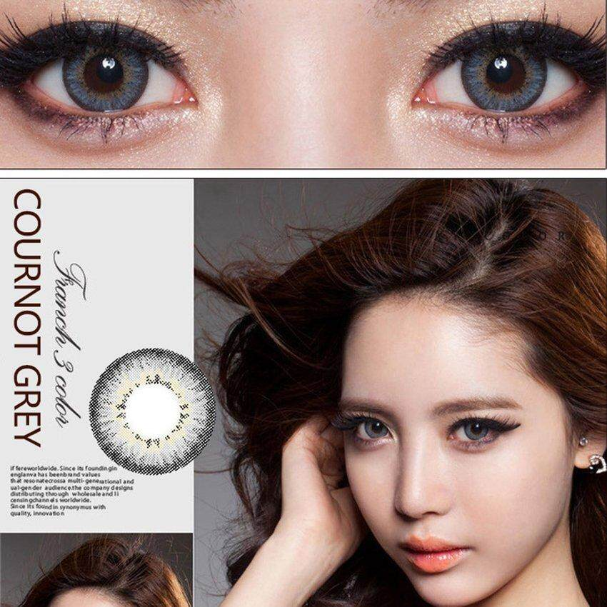 1pair Exotic Charm Contact Lenses Beautiful Clear Eyewear Beauty Makeup Tool By Legendseller.