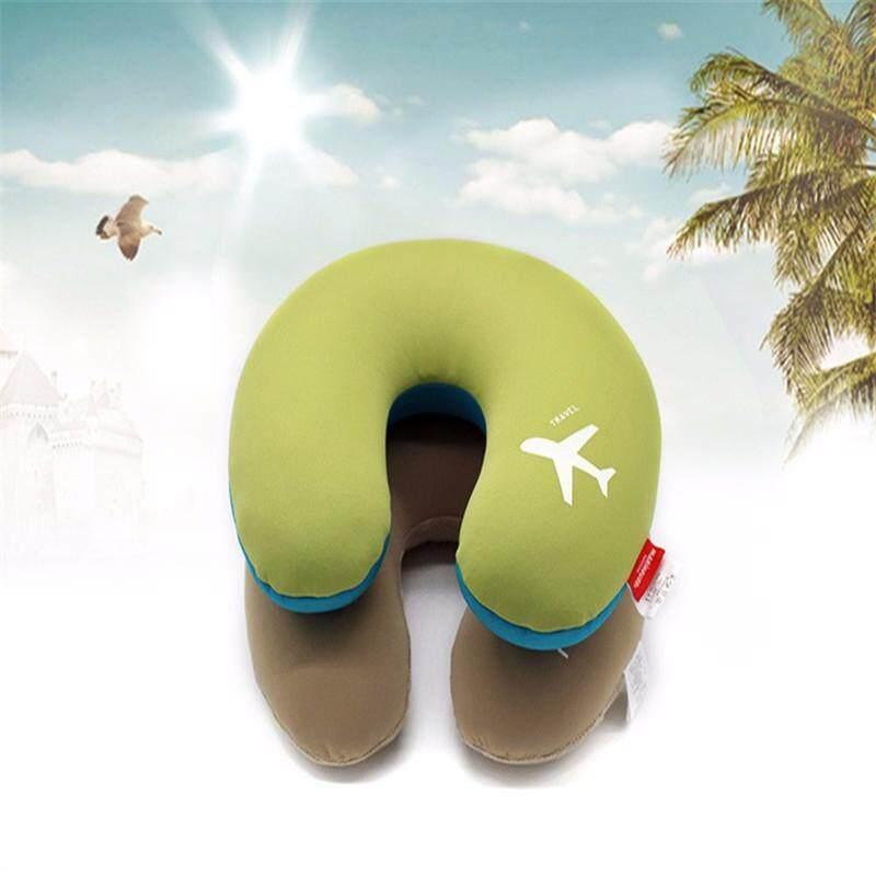 Vegou Brand 2017 Microbeads U-Shape neck Pillow car Airplane travel pillows kissen foam body pillow Cute Body/Neck/Sleep Pillow - intl