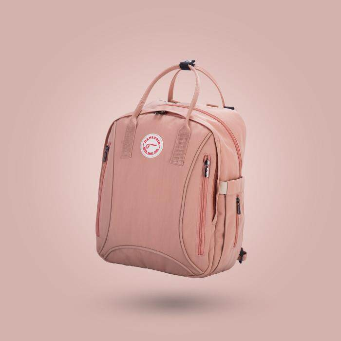 Discount Fashion Large Capacity Mummy Bag Diaper Bag Backpack For Stroller Outdoors Baby Care Pink Jf