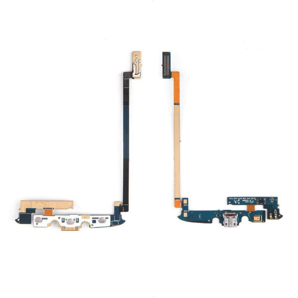 Port Pengisian Daya Dok USB Kabel Flex untuk Samsung Galaxy S4 Aktif I537 I9295